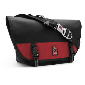 Chrome Mini Metro Messenger Bag, black/red